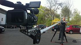 Arbeiten mit Kamerakran