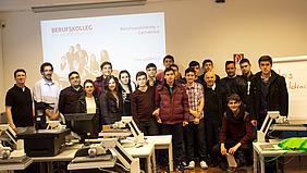Gruppenfoto von ITA-Klasse aus der Türkei.