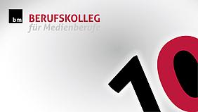 10 Jahre Berufskolleg für Medienberufe Logo