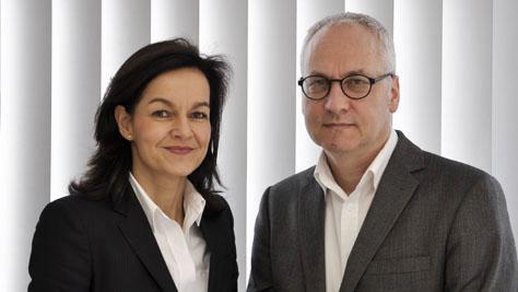 Susanne Hinzen und Klaus-Dieter Schulz.
